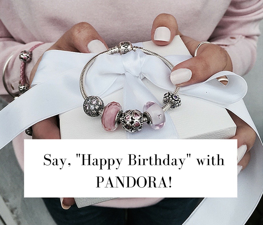 Say Happy Birthday with PANDORA