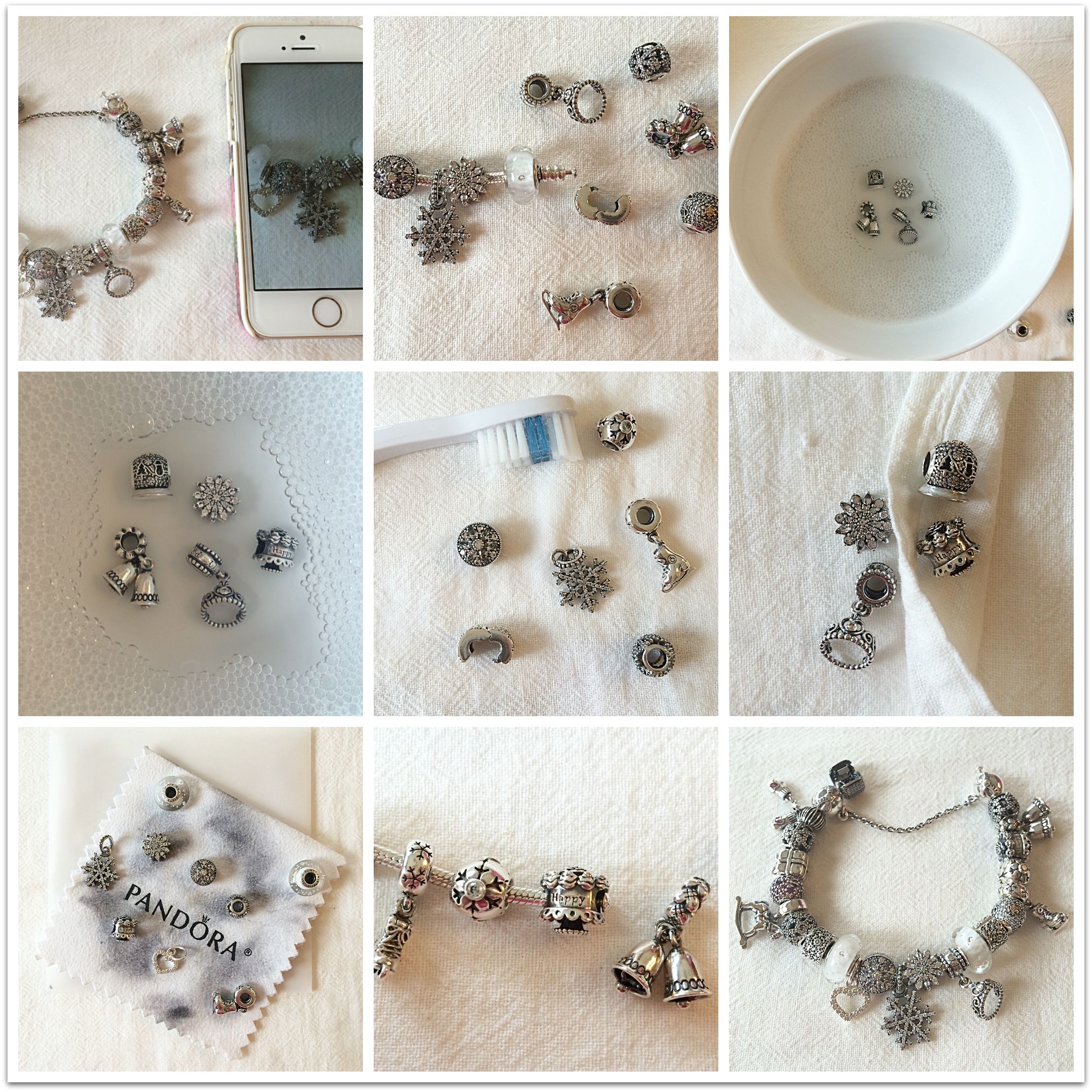 Cleaning Your Pandora Bracelet
