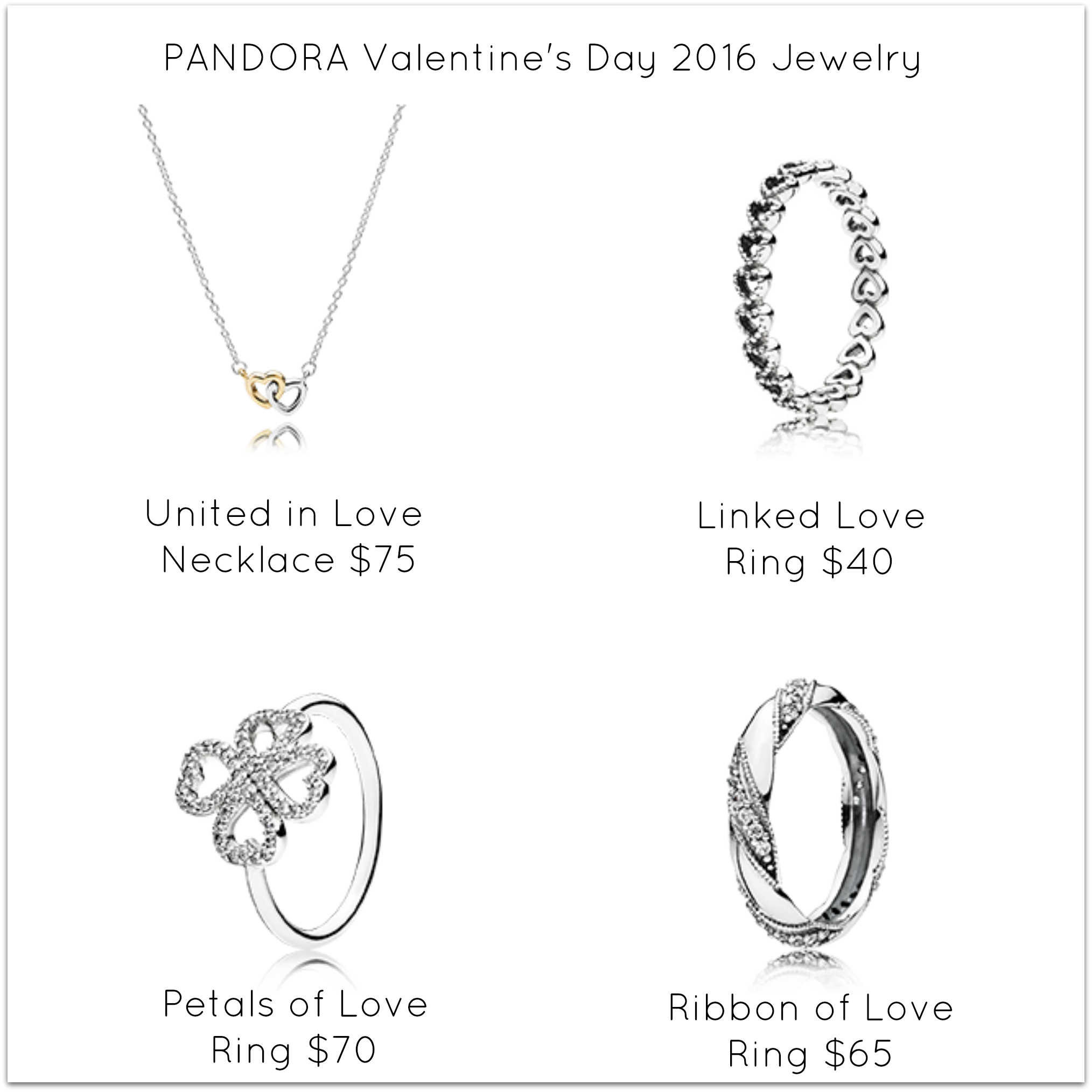 PANDORA Valentineu0027s Day 2016 Collection